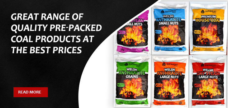 Quality Pre Packed Coal Products Banner